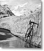 Lonely Bike Metal Print by Maurizio Bacciarini