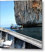 Long Boat Tour - Phi Phi Island - 0113124 Metal Print by DC Photographer