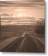 Long Road Home Metal Print by Laura Bentley