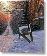 Long Way From Home Metal Print by Doug Kreuger