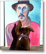 Lookin At You Dad Metal Print by Ron McMath