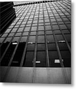 Looking Up At 1 Penn Plaza On 34th Street New York City Usa Metal Print by Joe Fox