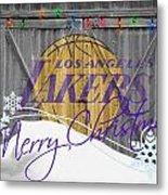 Los Angeles Lakers Metal Print by Joe Hamilton