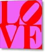 Love 20130707 Red Violet Metal Print by Wingsdomain Art and Photography