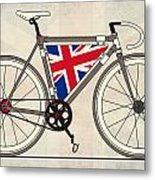 Love Bike Love Britain Metal Print by Andy Scullion