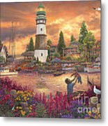 Love Lifted Me Metal Print by Chuck Pinson