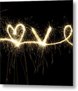 Love Shines Brightly Metal Print by Tim Gainey