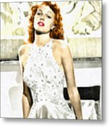 Lovely Rita Metal Print by Mo T