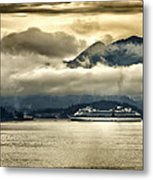 Low Clouds - Half Speed Metal Print by Jon Berghoff