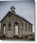 Lower Fox Creek School 2 Metal Print by Jim McCain