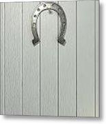 Lucky Horseshoe Entrance Metal Print by Allan Swart