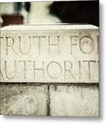Lucretia Mott Truth For Authority Metal Print by Lisa Russo