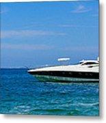 Luxury Boat Metal Print by Aged Pixel