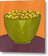 Macaroni And Cheese Metal Print by Christy Beckwith
