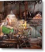 Machinist - It All Starts With A Journeyman  Metal Print by Mike Savad