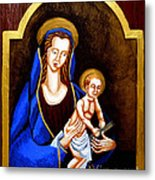 Madonna And Child Metal Print by Genevieve Esson