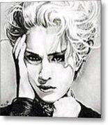 Madonna Metal Print by Fred Larucci