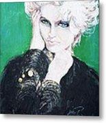 Madonna  Metal Print by Jade Pasteur