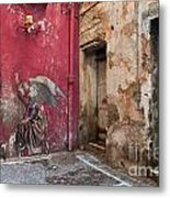 Madonna Of The Alley Metal Print by Marion Galt