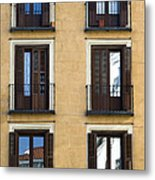 Madrid Metal Print by Frank Tschakert