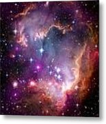 Magellanic Cloud 3 Metal Print by The  Vault - Jennifer Rondinelli Reilly