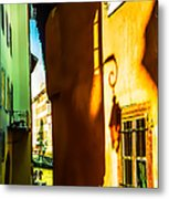Magic Lantern On The Walls Of Annecy Metal Print by Jenny Rainbow