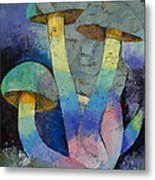 Magic Mushrooms Metal Print by Michael Creese