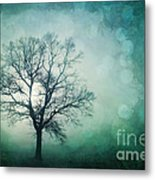 Magic Tree Metal Print by Priska Wettstein