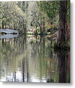 Magnolia Plantation Gardens Series II Metal Print by Suzanne Gaff