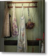 Maid - Always So Much Housework Metal Print by Mike Savad