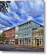Main Street Usa Metal Print by Tom Mc Nemar