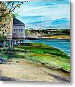 Maine Chowder House Metal Print by Scott Nelson