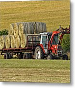 Make Hay When Sun Shines Metal Print by Paul Scoullar