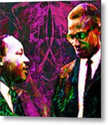 Malcolm And The King 20140205m68 Metal Print by Wingsdomain Art and Photography