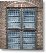 Malmohus Window Metal Print by Antony McAulay