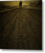 Man On A Mission Metal Print by Evelina Kremsdorf