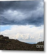 Man On Mountain Metal Print by Konstantin Sutyagin