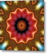Mandala 103 Metal Print by Terry Reynoldson