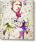 Manny Pacquiao Metal Print by Aged Pixel