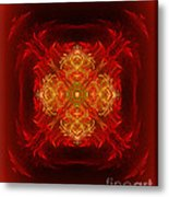 Mapping The Soul - Spiritual Abstract Art By Giada Rossi Metal Print by Giada Rossi