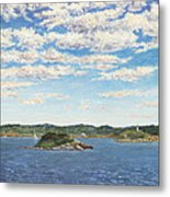 Marblehead View Metal Print by Elaine Farmer