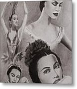 Maria Tallchief Metal Print by Amber Stanford