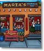 Maria's New Mexican Restaurant Metal Print by Victoria De Almeida