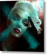 Marilyn 128 Tryp  Metal Print by Theo Danella