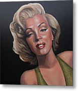 Marilyn Monroe 2 Metal Print by Paul Meijering