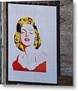 Marilyn Monroe Metal Print by Rob Hans