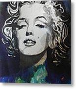 Marilyn Monroe..2 Metal Print by Chrisann Ellis