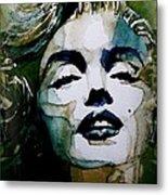 Marilyn No10 Metal Print by Paul Lovering