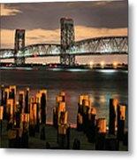 Marine Parkway Bridge Metal Print by JC Findley