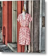 Market Fashion Metal Print by Brenda Bryant